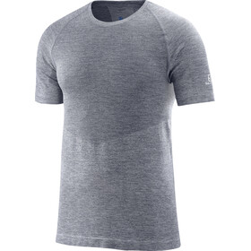 Salomon Allroad Kortærmet T-shirt Herrer grå